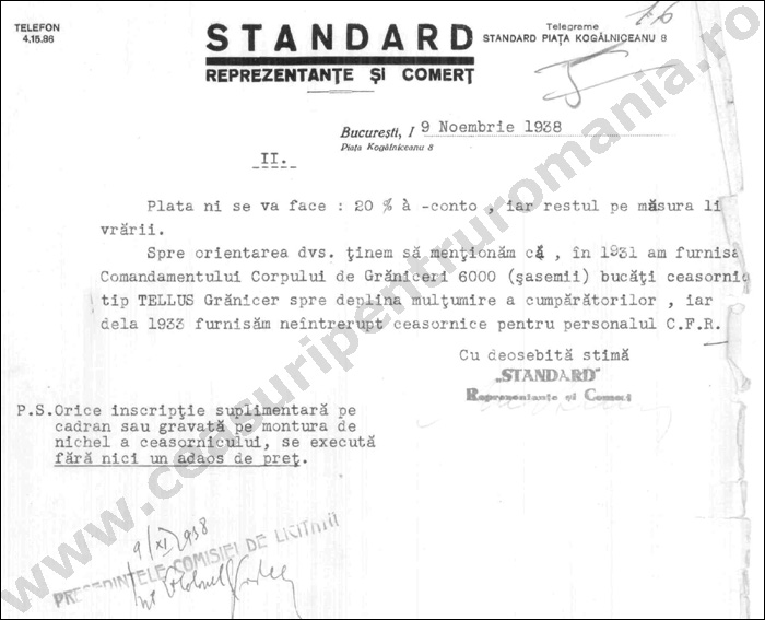 document Standard 1938 | 2