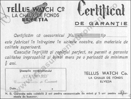 Tellus instructiuni [1938] | 1