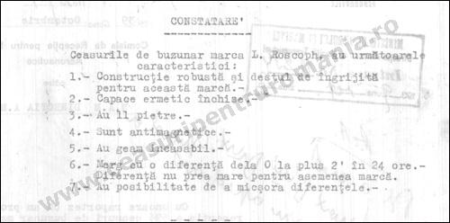 receptie 1939 | ceasuri panda