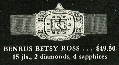 Benrus Betsy Ross