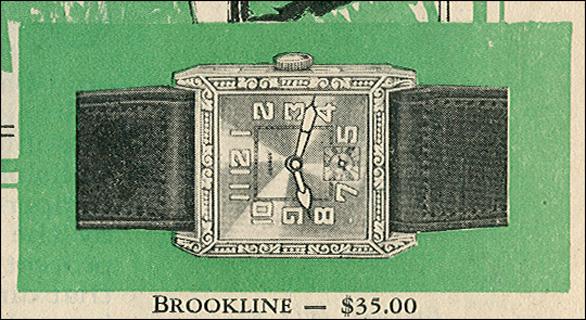 Benrus Brookline