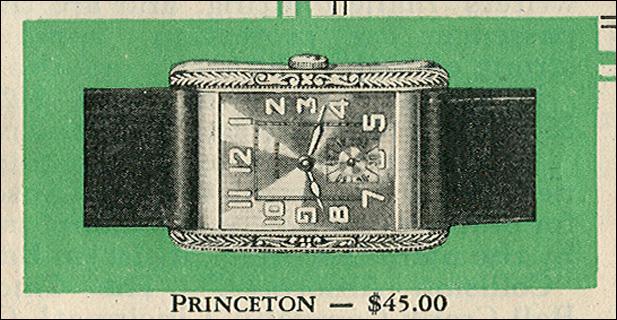 Benrus Princeton