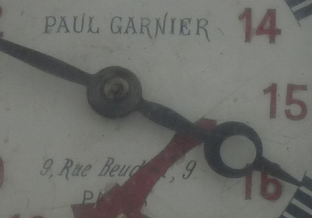 gara Cernavoda Pod | ceas Paul Garnier (sursa: wikimedia)