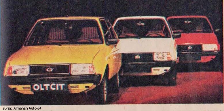 modele Oltcit | 1984