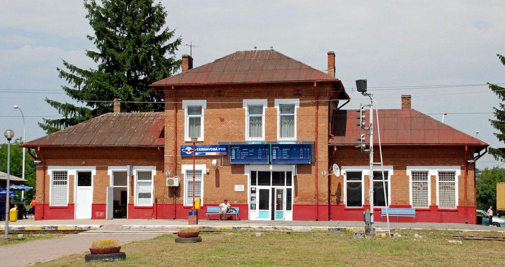 Cernavoda-Pod | gara in 2015 (sursa forum Transira)