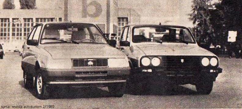 Oltcit - Dacia | TIB 1989