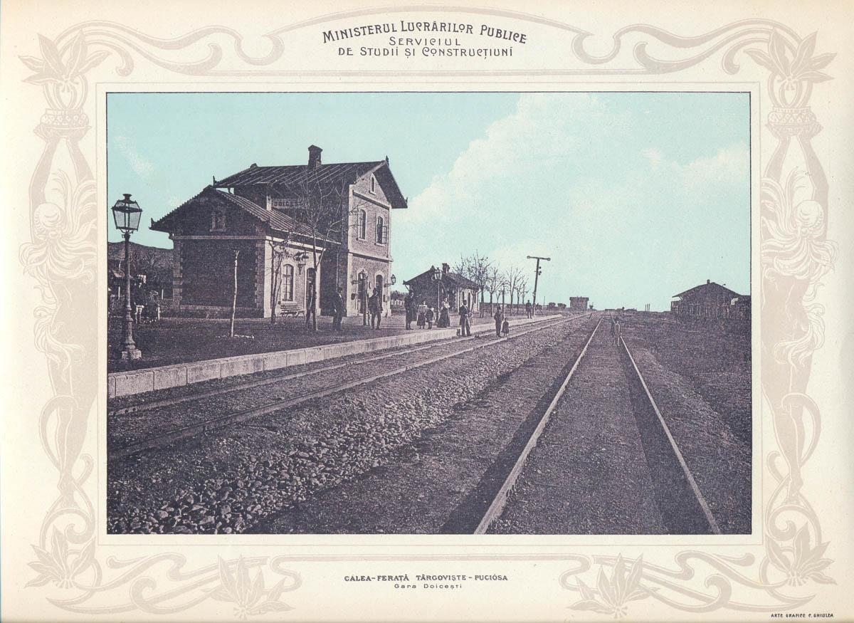 gara Doicesti | Albumul MLP - 1903