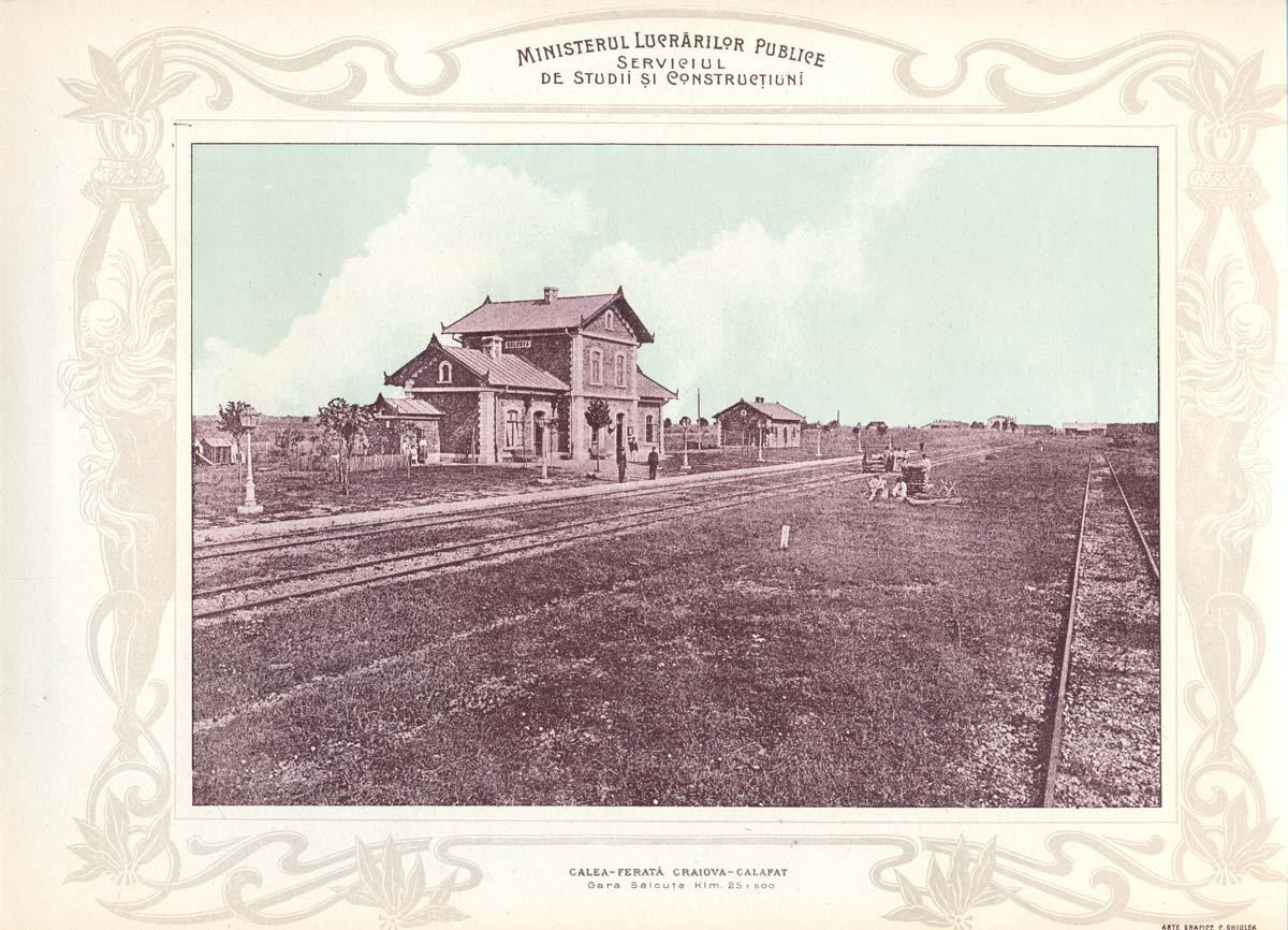 gara Salcuta | Albumul MPL - 1903
