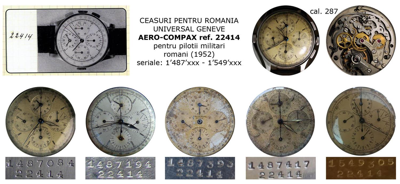 Universal Geneve | Aerocompax | ref. 22414 | cal. 287 | 1952