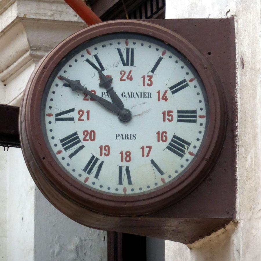 ceas Paul Garnier | varianta angulara (fara consola)