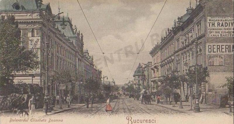 Bucuresci | 1904 | B-dul Elisabeta