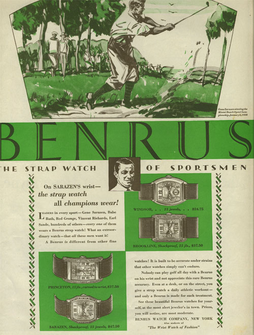 Liberty | ad Benrus | 1.septembrie.1928