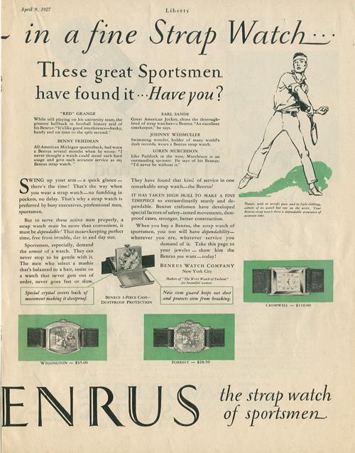 Liberty | ad Benrus | 9.aprilie.1927-2
