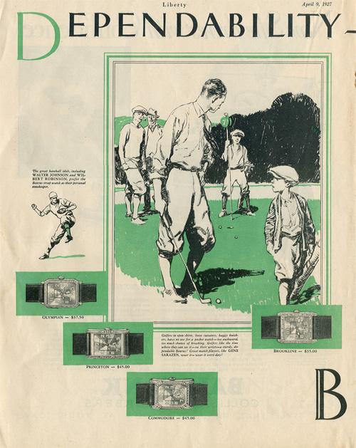 Liberty | ad Benrus | 9.aprilie.1927-1