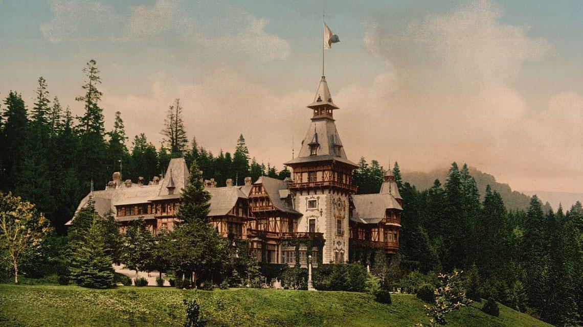 Castelul Peles in prima varianta | aprox. 1900