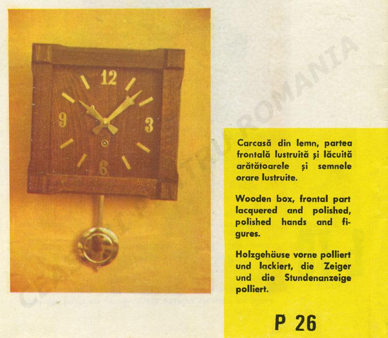 catalog Aradora | model P26