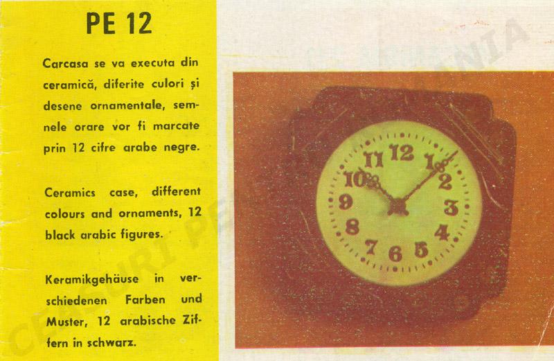 catalog Aradora | model PE12