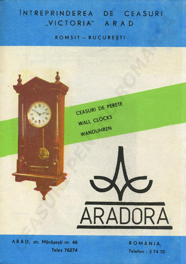 catalog Aradora | coperta