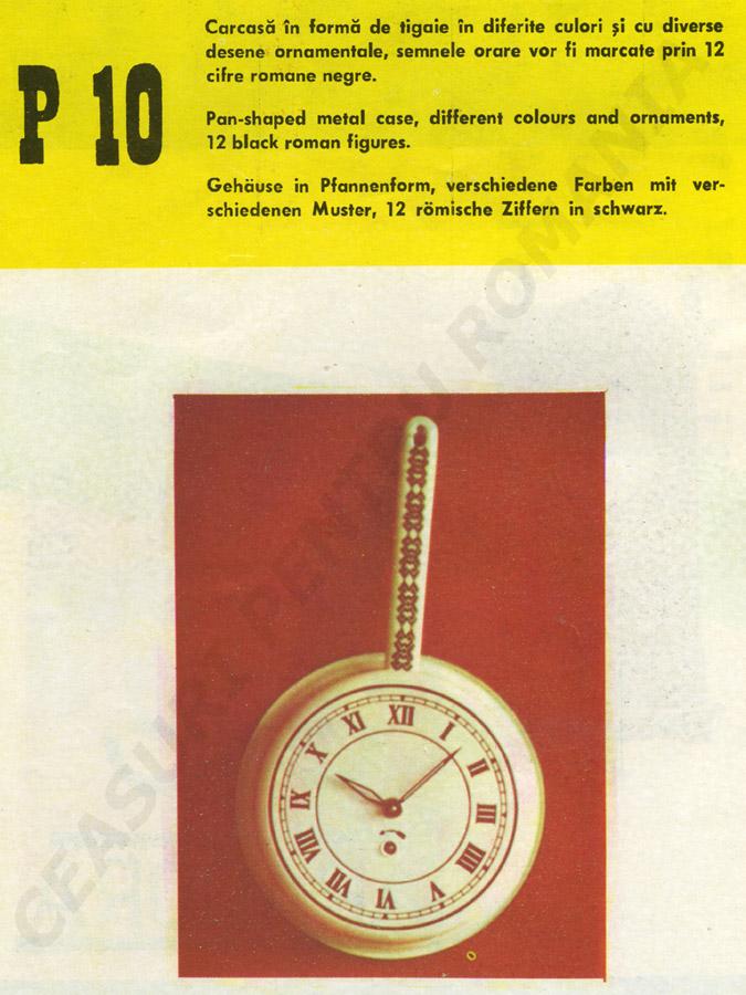 catalog Aradora | model P10