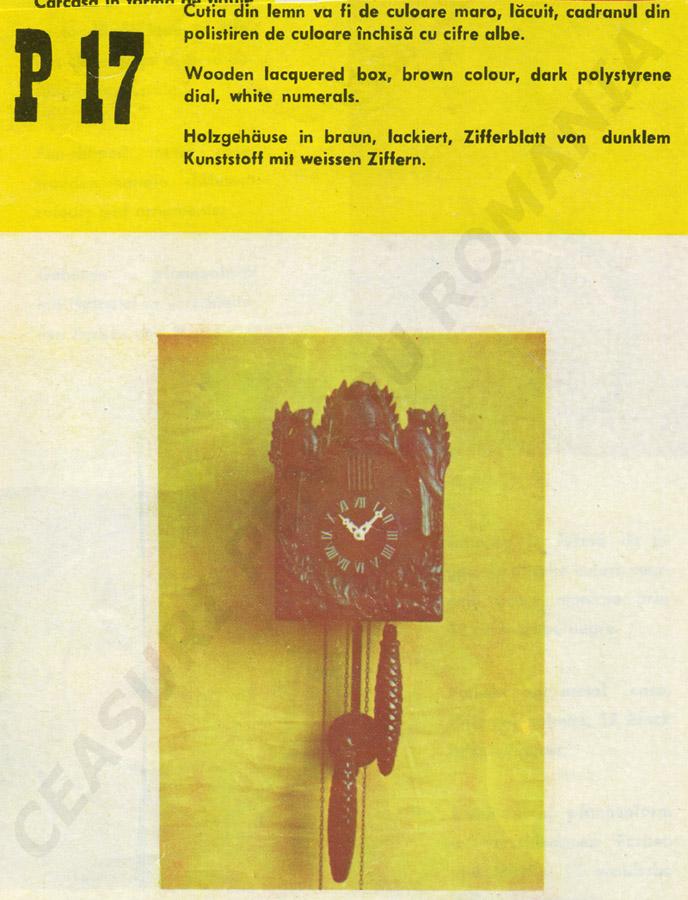 catalog Aradora | model P17
