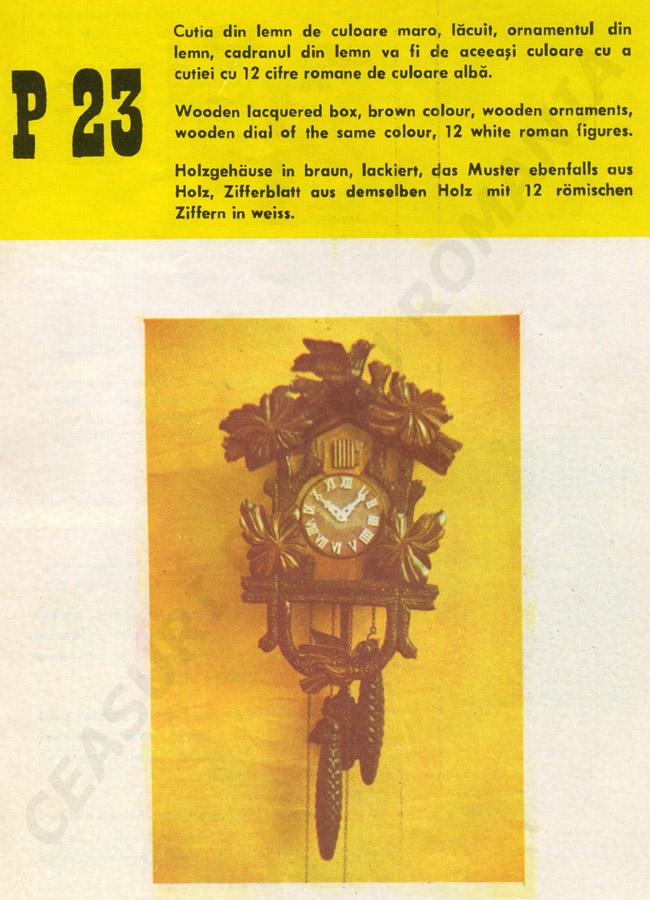 catalog Aradora | model P23