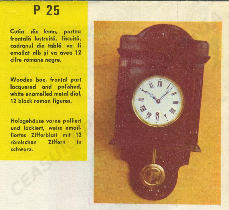 catalog Aradora | model P25