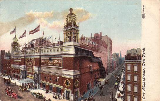 Hippodrome NY | cca. 1910