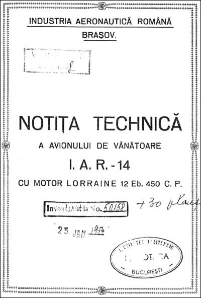 [3.2] Notita Tehnica - IAR14