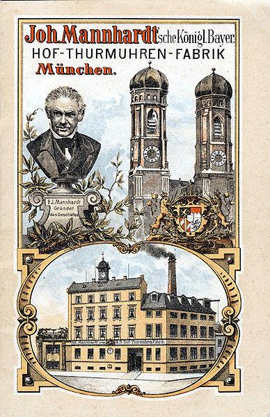 reclama fabricii Johann Mannhardt | München - 1893