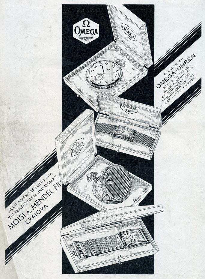 Omega | Moisi A. Mendel | Orologiul - 1931