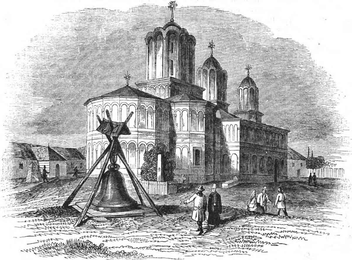 Mitropolia | Bucuresti - 1837 | Raffet (sursa imagine - wikipedia)
