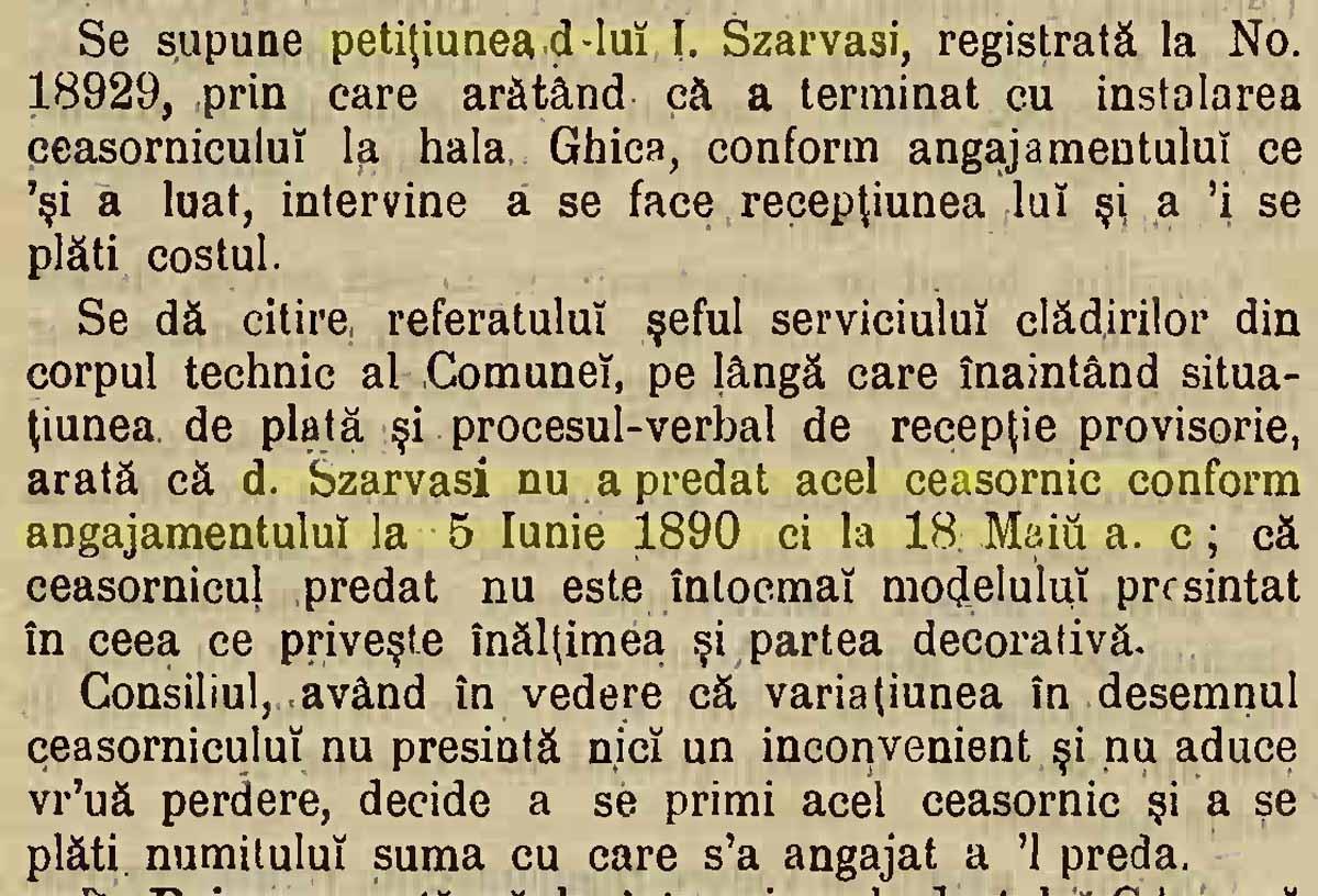 """""""Monitorul Comunal al Primariei Bucuresci"""" (an XVI / nr. 25 / 16 iunie 1891"""