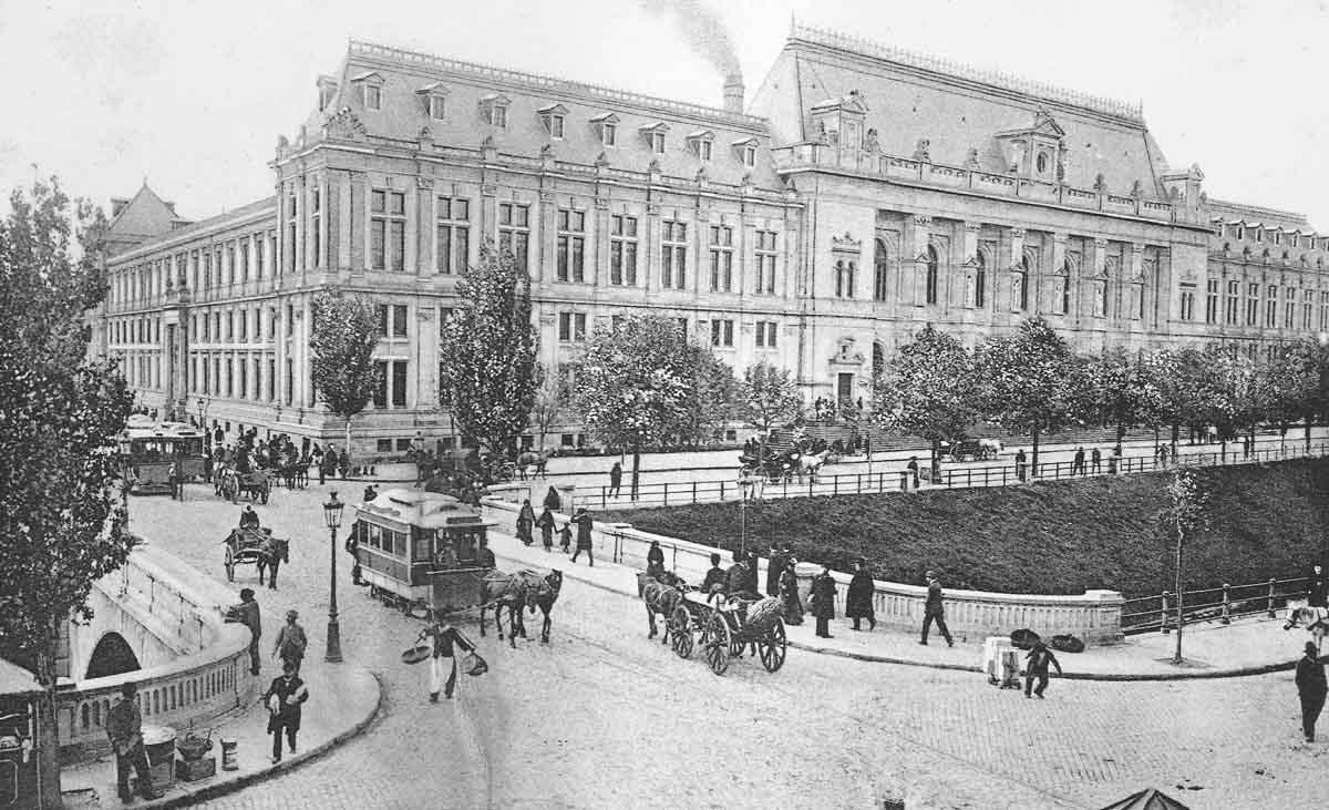 Palatul Justitiei - Bucuresti | 1900