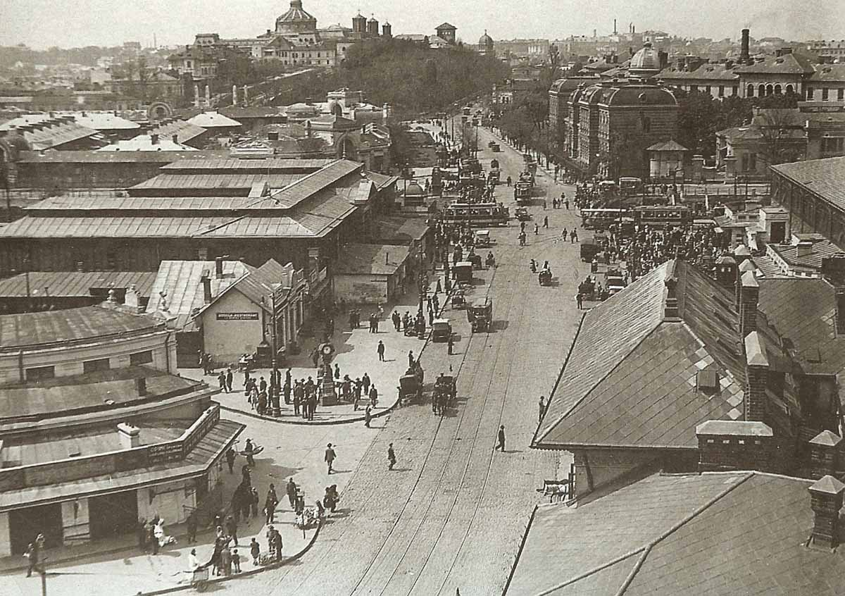 Bucuresti | Piata-Mare in 1926| foto: Nicolae Ionescu