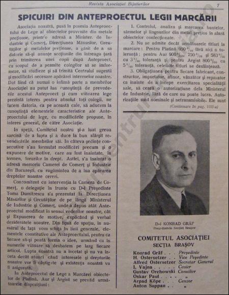Revista Ceasornicarilor | 1-1937