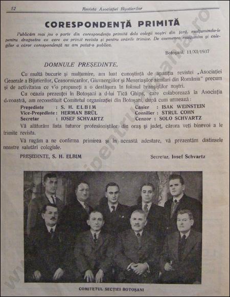 Revista Ceasornicarilor | 2-1937