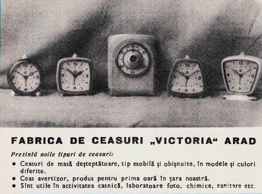 reclama Victoria Arad | 1965 (scan: GraficFront.ro)