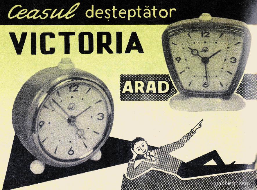 reclama Victoria Arad | 1966 (scan: GraficFront.ro)
