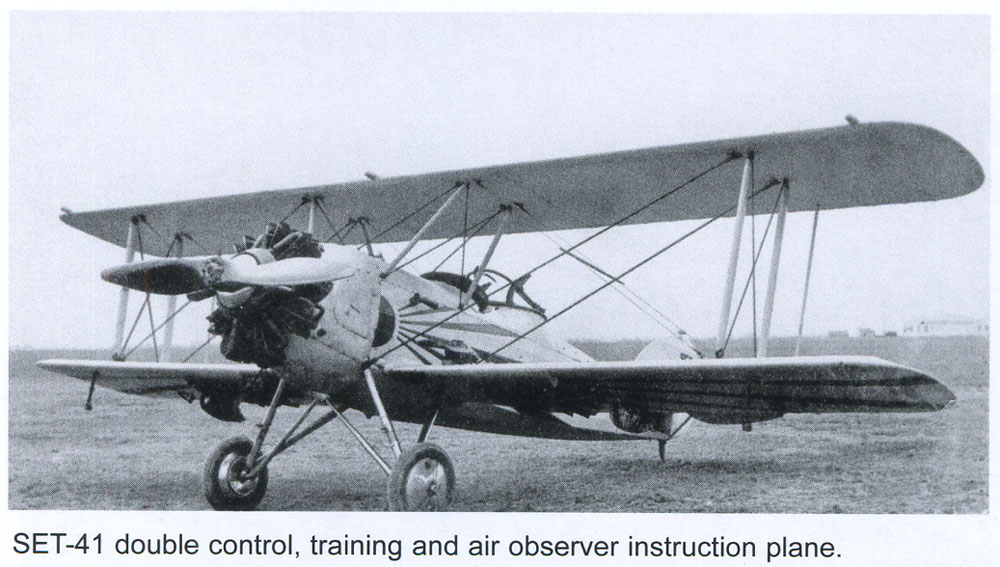plane SET-41 | 1932