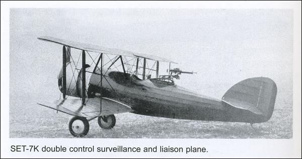 plane SET-7K | 1934
