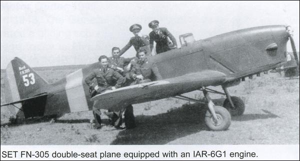 avion SET FN-305 | 1940