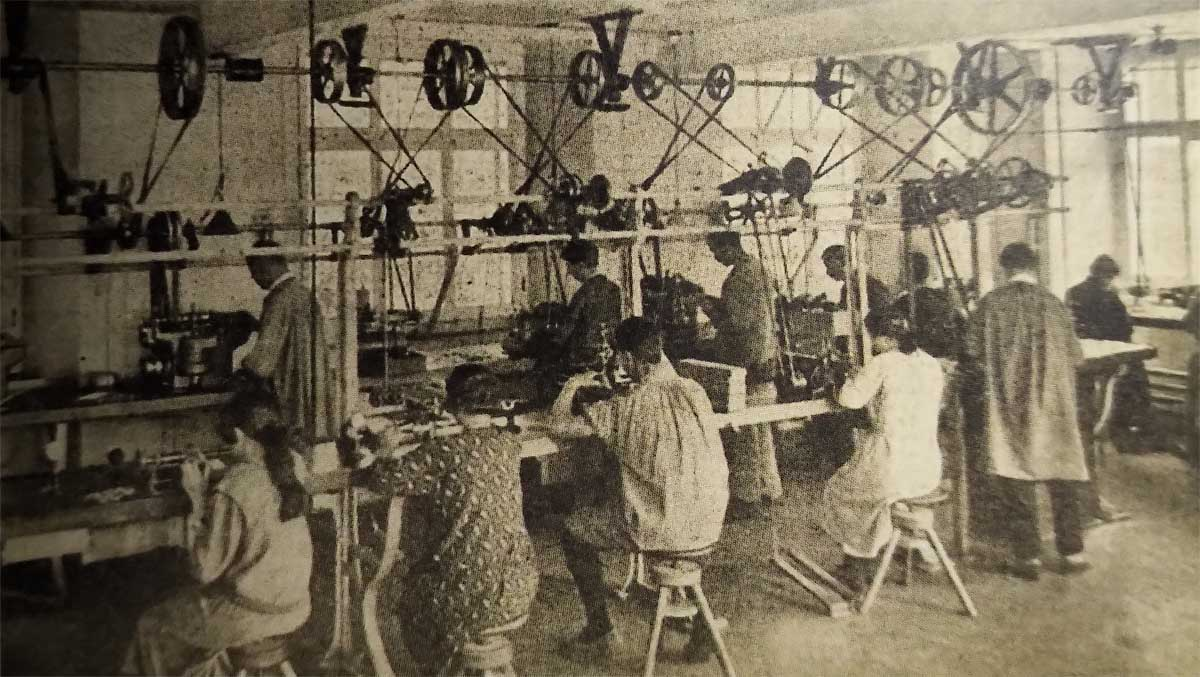 Tissot - atelier ebauche | 1923