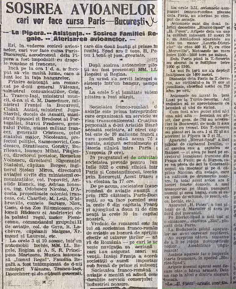 Universul | 21.octombrie.1921