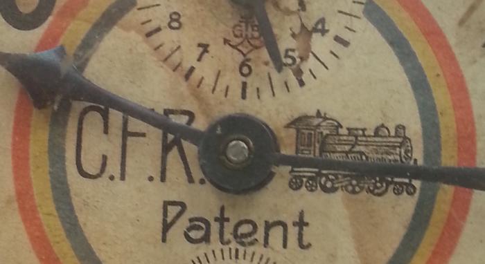 C.F.R. Patent | cu tricolorul pe cadran
