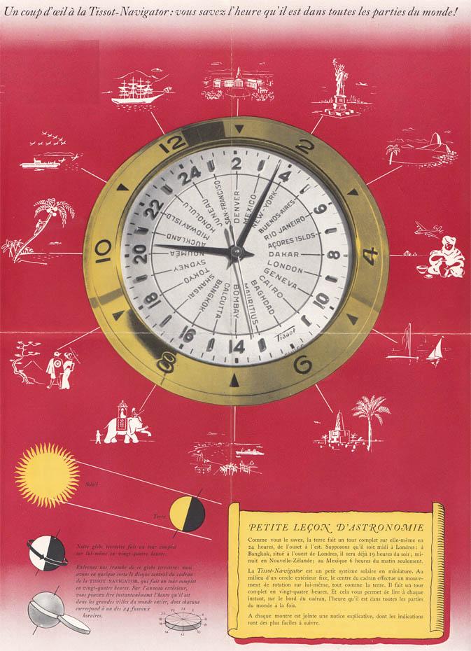 catalog Tissot Navigator | 1952 (sursa imagine: Arhivele Istorice Tissot)