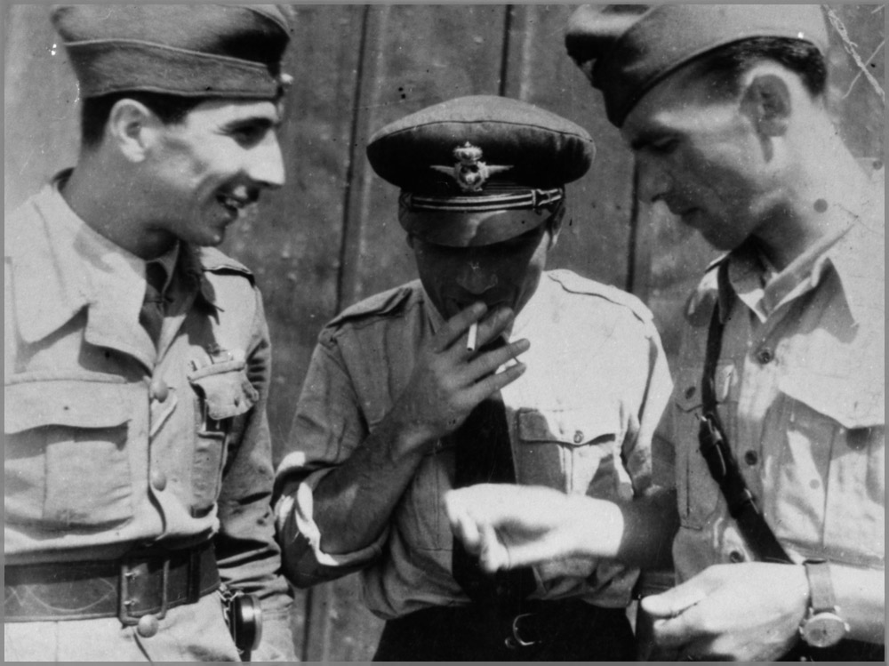 Piloti militari romani - WW2 | Universal Geneve Aerocompax. (imagine din colectia - Horia Stoica | Brasov)