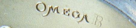 Omega de buzunar | F. Jensen | mecanism Omega B