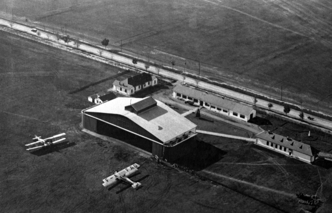 aeroportul Bucuresti - Baneasa | anii 1920