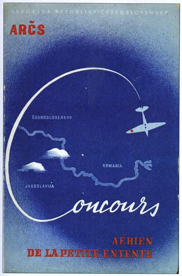 afisul Concursului Aviatic al Micii Antante - 1938 (sursa - bibliografie 1)