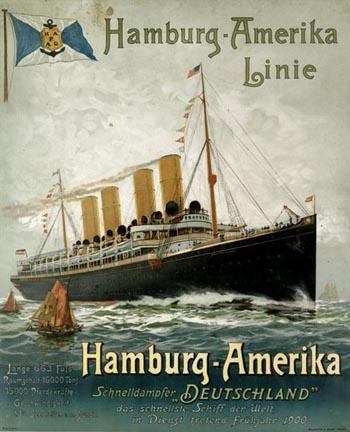 afis HAPAG - 1900